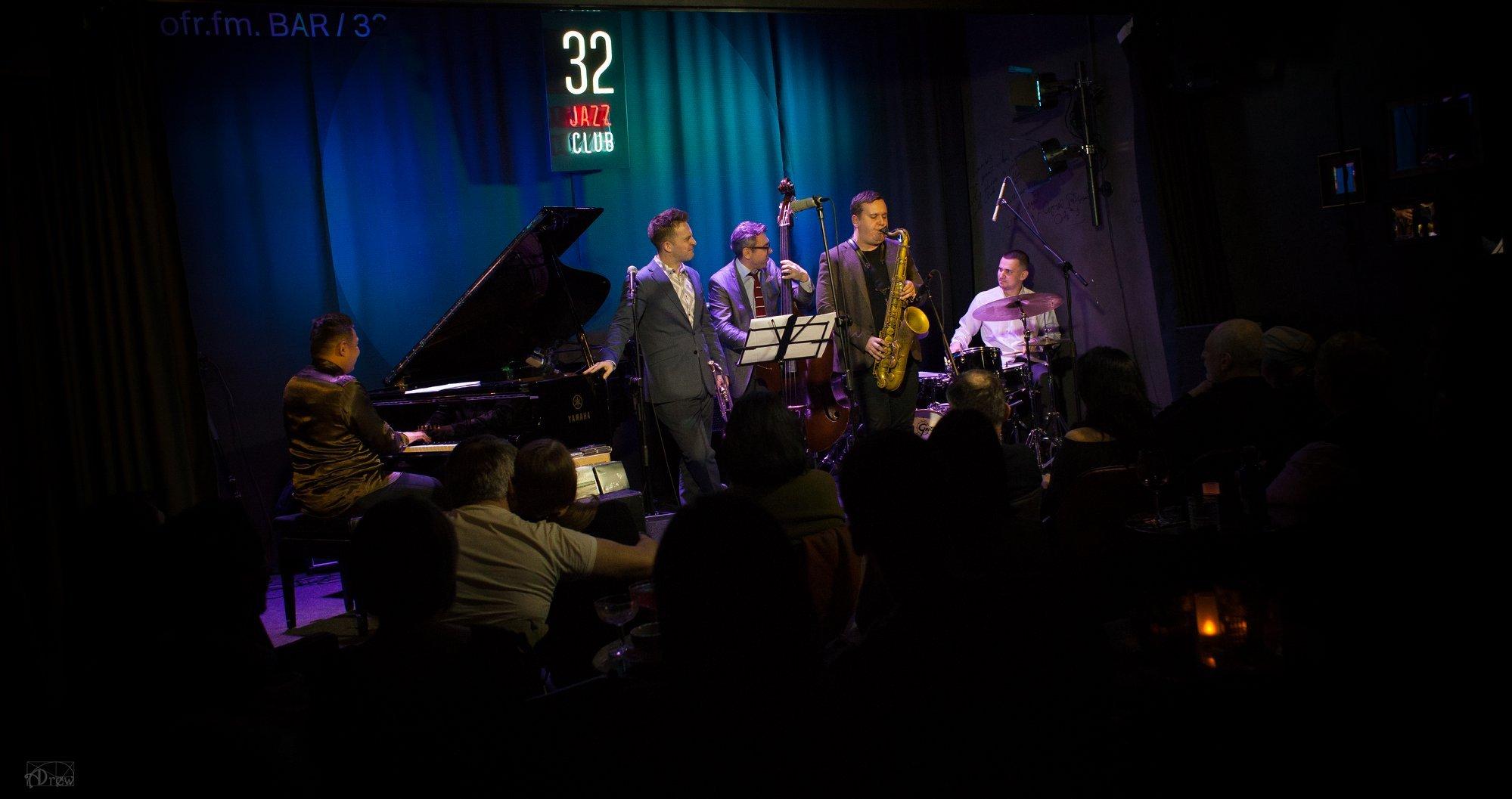 Ark Ovrucki New York Quartet feat. Benny Benack