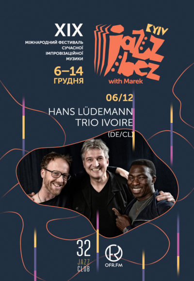 Hans Ludemann Trio Ivoire (DE/CI)