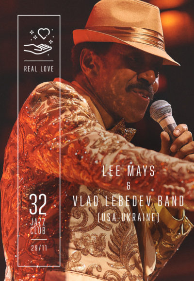 Lee Mays & Vlad Lebedev Band - Real Love (USA-UA)