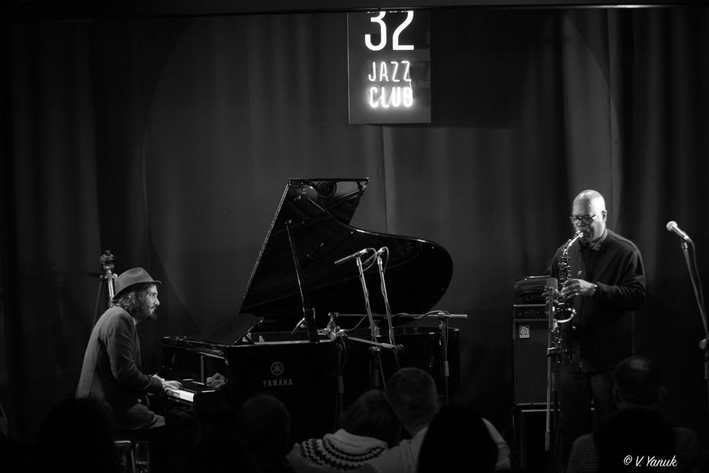 07/12 Greg Osby & Tal Cohen. Фото: В'ячеслав Янюк