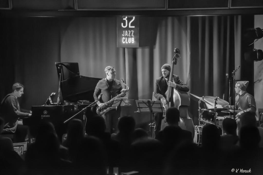 14/12 Bogdan Gumenyuk Quartet feat. Sandy Eldred. Фото: В'ячеслав Янюк