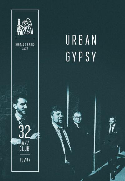 Urban Gypsy - Vintage Paris Jazz