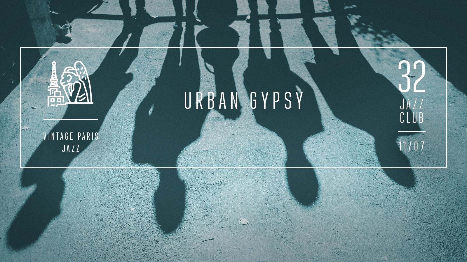 Urban Gypsy — Vintage Paris Jazz