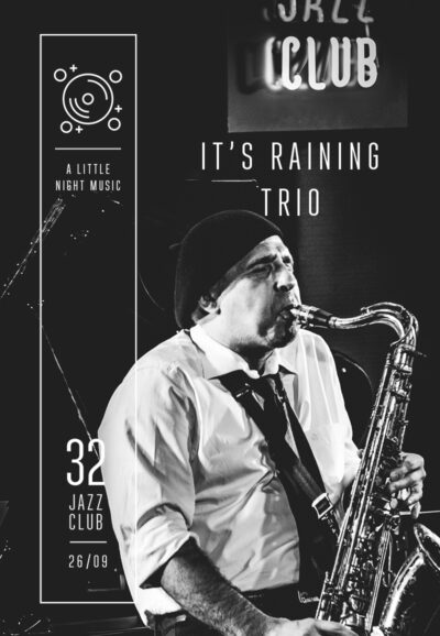 It's Raining Trio - A Little Night Music
